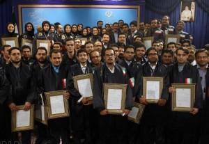سهیل رجبی دانشجوی کارشناسی ارشد دانشگاه آزاد اسلامی واحدتهران مرکزی در ارزیابی وزارت علوم، تحقیقات وفناوری به عنوان دانشجوی نمونه کشوری انتخاب شد
