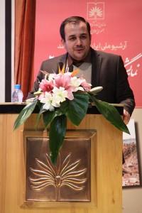 """مراسم افتتاحیه نمایشگاه افتخار 2 """"اسناد عملیات کربلای ۵"""" با اجرای سهیل رجبی"""