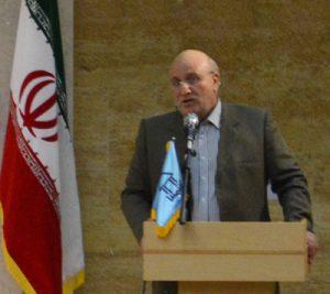 پروفسور رجبی ریاست موسسه آموزش عالی شمس گنبد